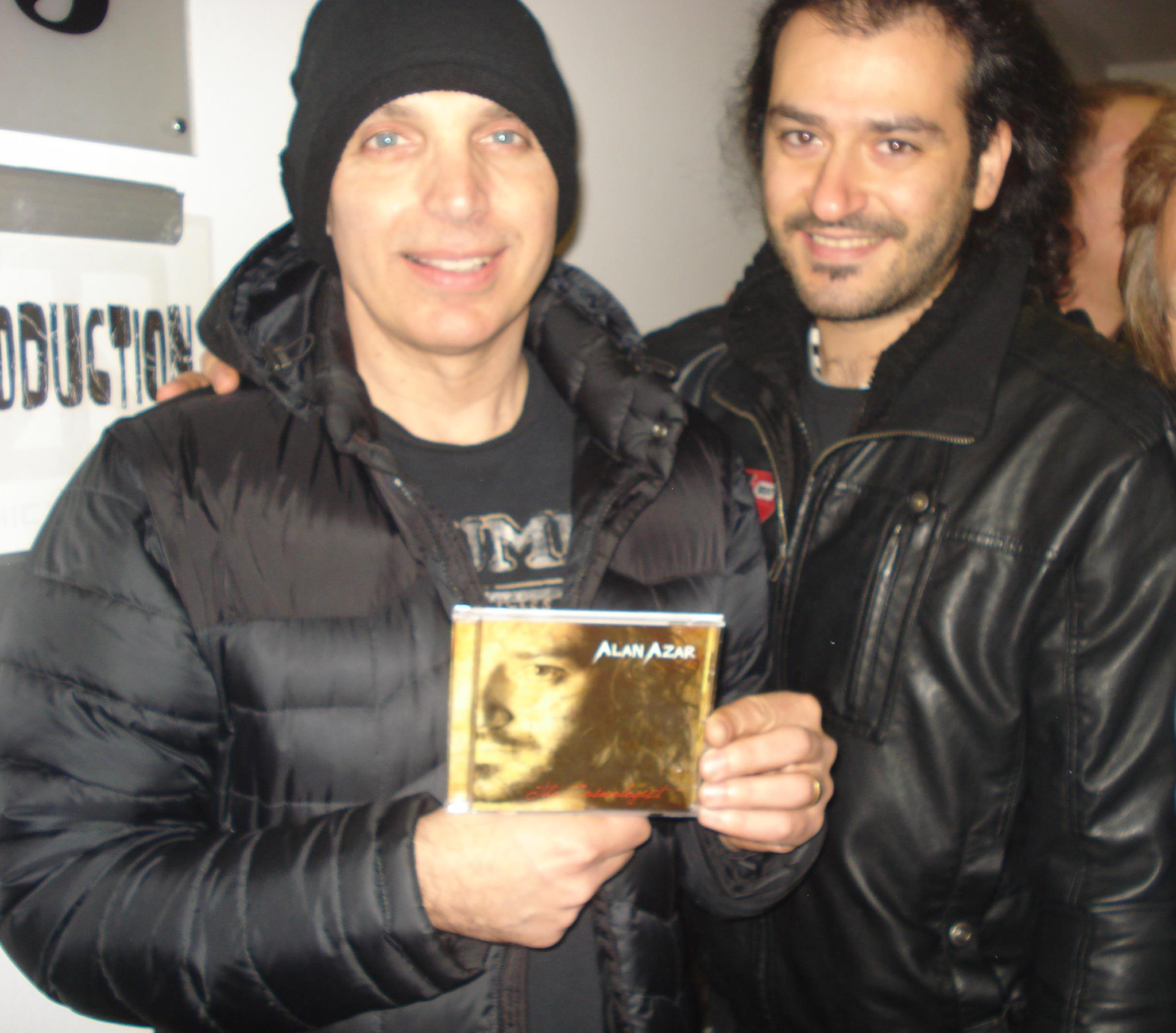 Alan Azar with Joe Satriani - The Cosmologist CD
