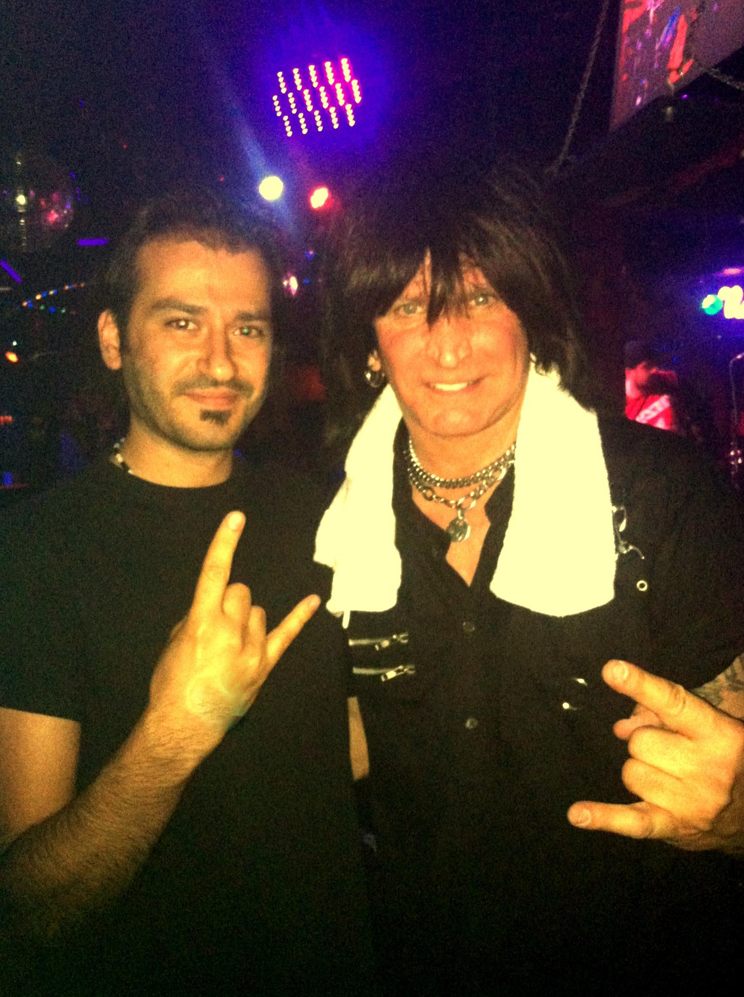 Alan Azar and Michael Angelo Batio