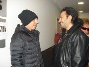 Alan Azar With Joe Satriani..